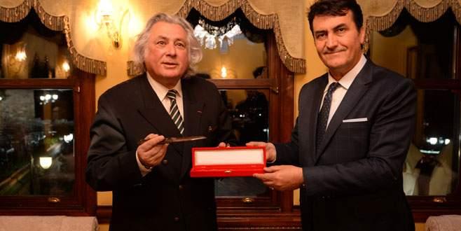 Fransız Senatör Osmangazi'ye hayran kaldı