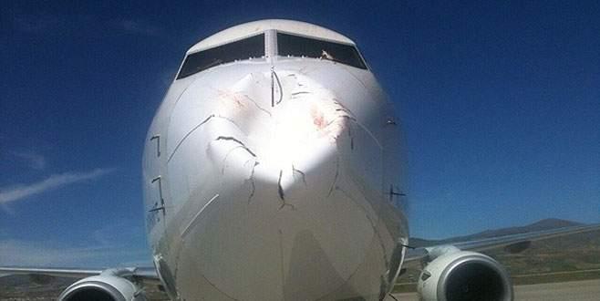 THY uçağı felaketten döndü