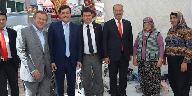 CHP Bursa'ya Beşiktaş desteği