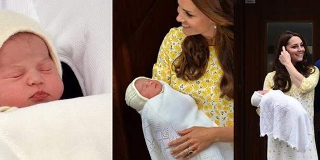 Minik Diana Kraliçe ile tanıştı