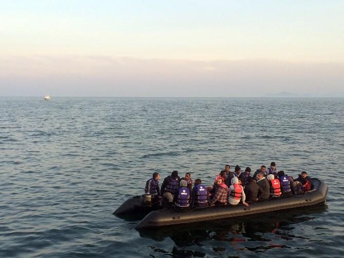 Enez Açıklarında Göçmen Operasyonu