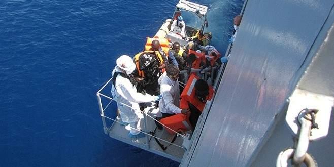 Akdeniz'de göçmen kurtarma operasyonu