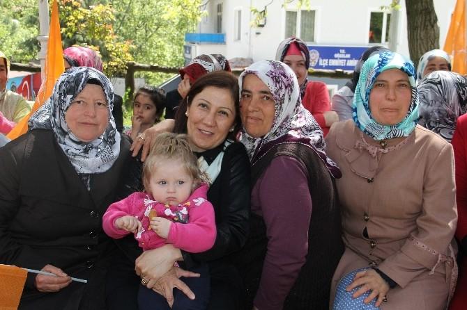AK Partili Ceritoğlu, Halkla Buluşmaya Devam Ediyor