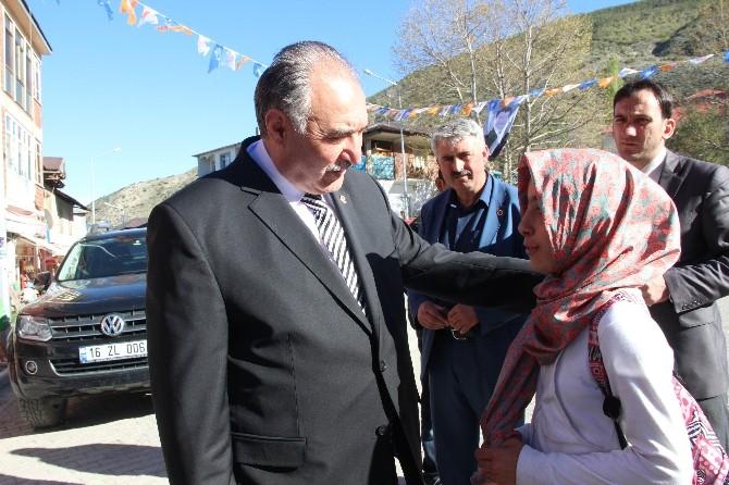 AK Partili Yılmaz Olur'da