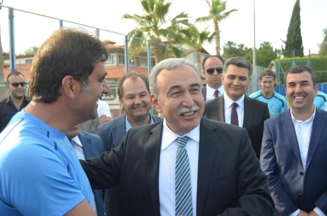 Vali Büyük'ten Adana Demirspor'a Ziyaret