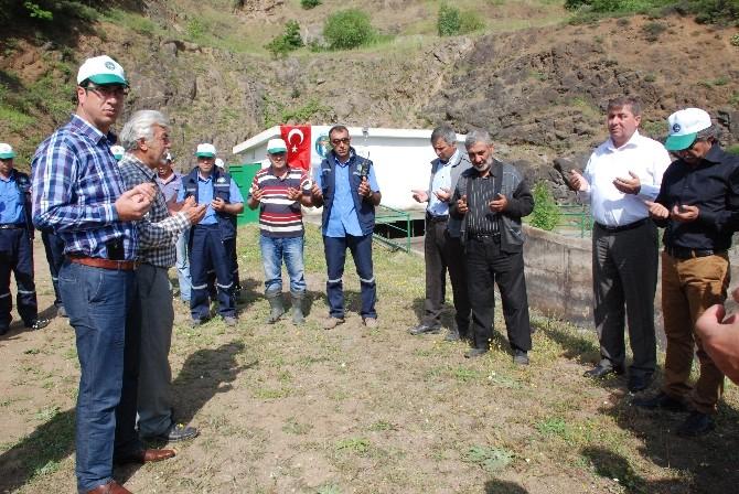 Bakacak Barajı'ndan Tarım Arazilerine Su Verildi