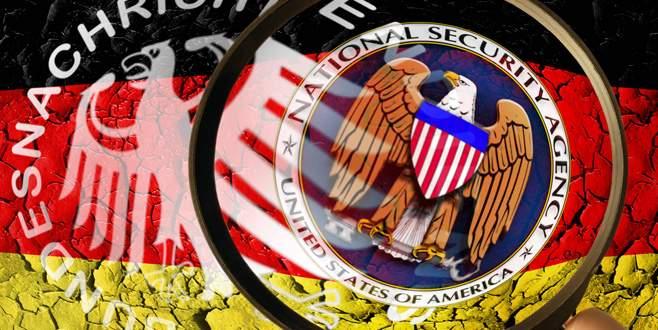 Almanya'dan ABD'ye istihbarat sınırlaması