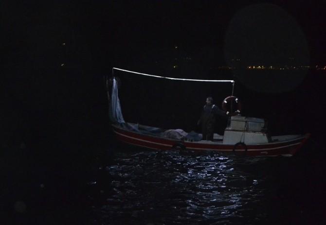 Balıkçılar Denizde Mahsur Kaldı