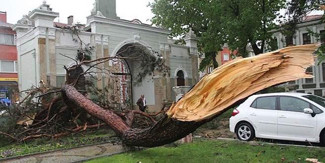Şiddetli sağanak ve fırtına geliyor!