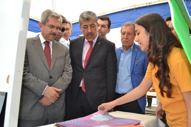 İMKB Ceyhan Anadolu Lisesi'nde Bilim Fuarı Açıldı
