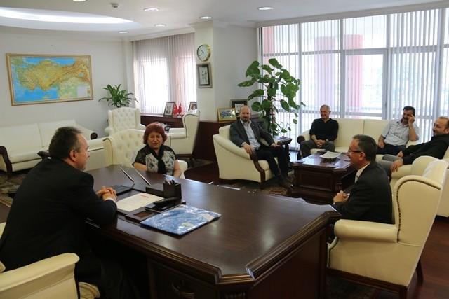 STK'ların Vali Ali Fidan'a Ziyaretleri Devam Ediyor