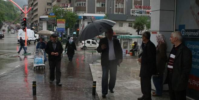 Yağmur'a hazırlıksız yakalandık