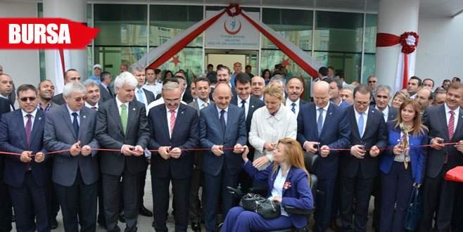 Nilüfer Ağız ve Diş Sağlığı Merkezi açıldı