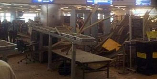Atatürk Havalimanı'nda tavan çöktü: 3 yaralı