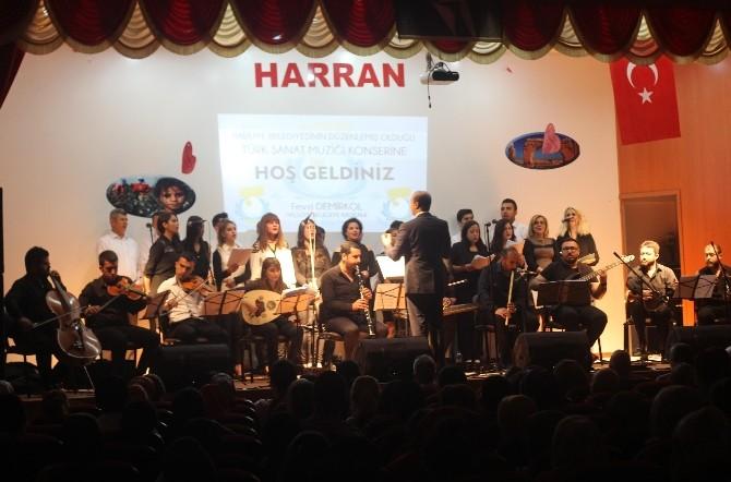Haliliye Belediyesi Tsm Korosu, Harran'da Sahne Aldı