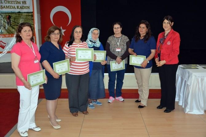 Aydınlı 94 Kadın Çiftçi Eğitimden Geçti