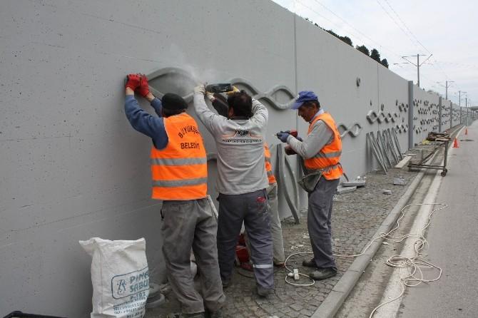 Samsun'un Duvarları Süsleniyor