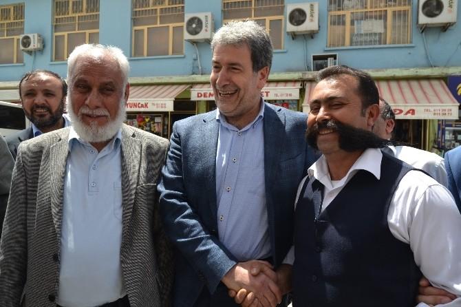 Nurettin Yaşar, Arapgir'i Ziyaret Etti