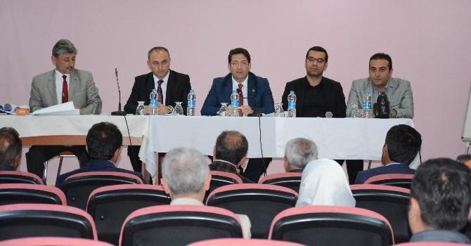 Mahalli İdareler Meclis Toplantısı Yapıldı