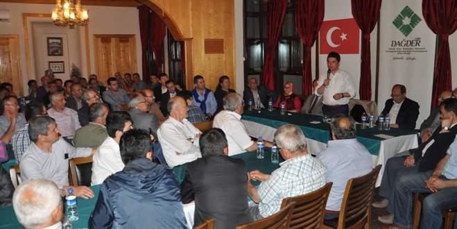 Erkan Aydın'a hemşerilerinden tam destek