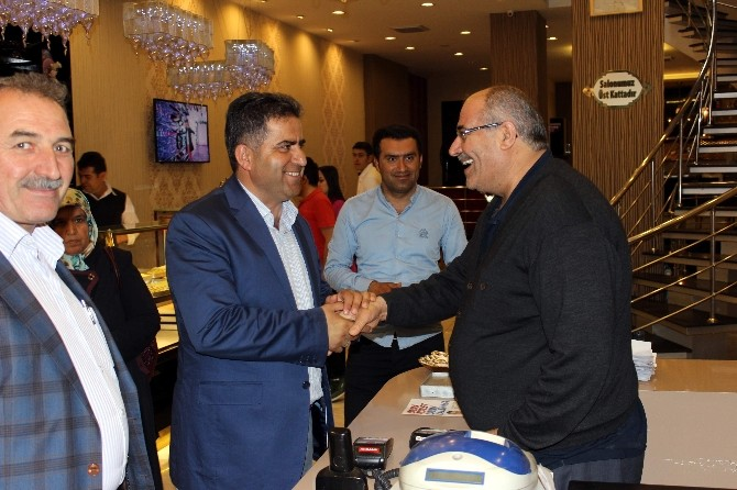 İbrahim Halil Fırat'tan 'Teşekkür' Ziyareti