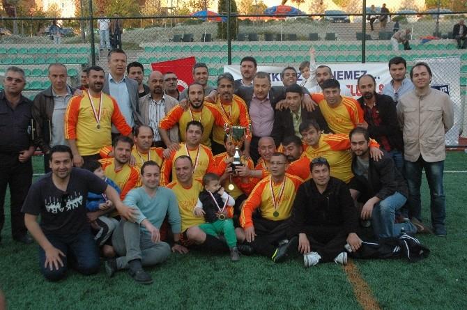 Mali Müşavirlerin Futbol Ligi'nin Şampiyonu Performansspor Oldu