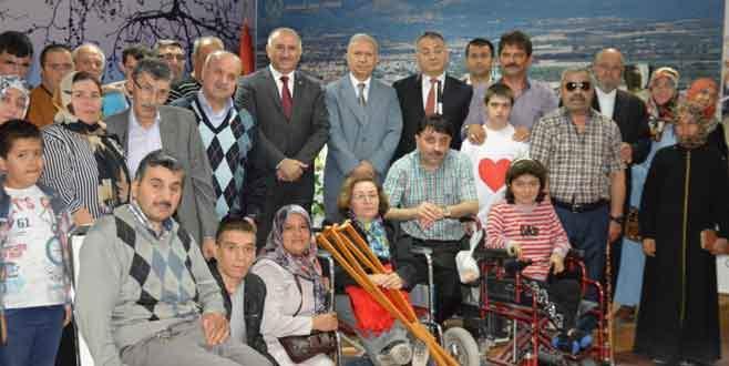 Orhangazi'de Engelliler Haftası kutlandı