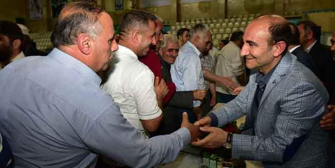 Başkan Edebali, Yıldırımlılara dönüşümü anlattı