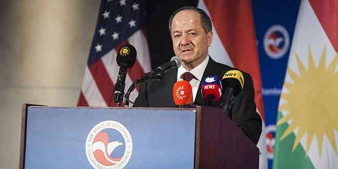 Barzani: Kürt devletine destek veren çok ülke var