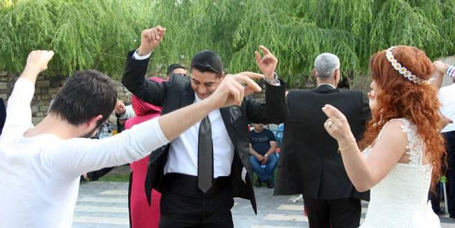 İspanyol geline Türk usulü düğün
