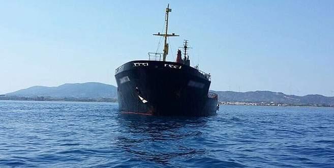 Saldırıya uğrayan geminin rotası belli oldu
