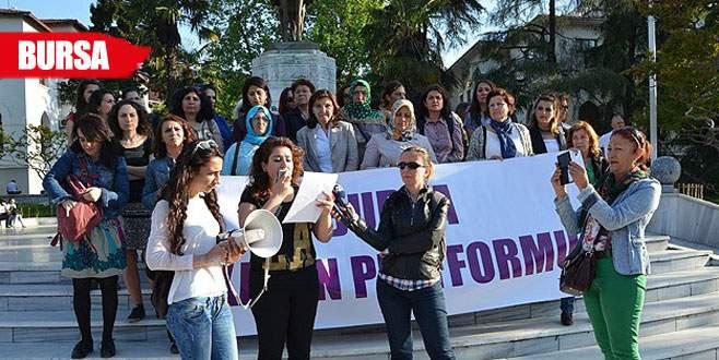 Bursa'da Ferinaz protestosu