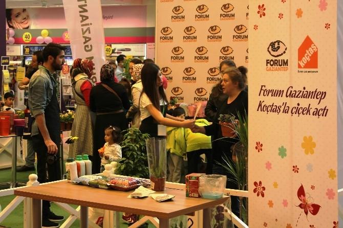 Forum Gaziantep Koçtaş'la Çiçek Açtı