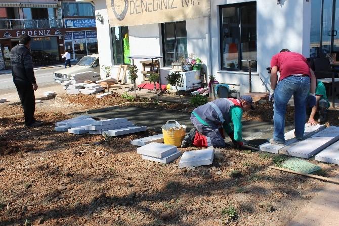 Akçakoca'da Peyzaj Düzenleme Çalışmaları Yoğunluk Kazandı