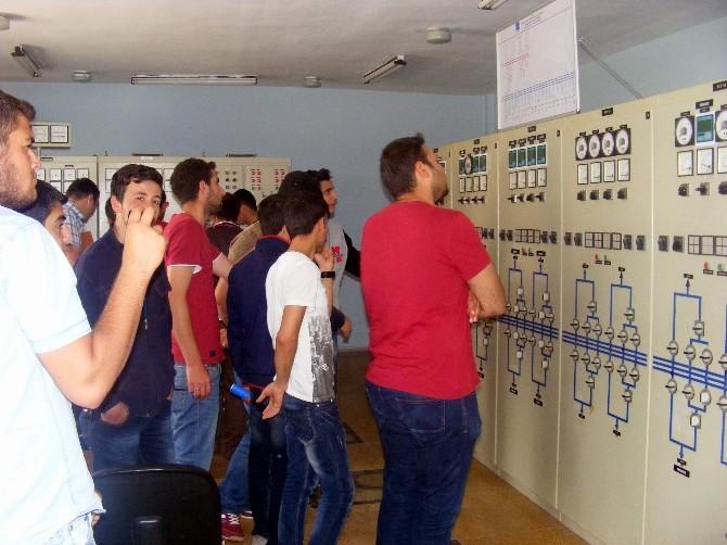 Meslek Yüksekokulu Öğrencilerinden Teknik Gezi