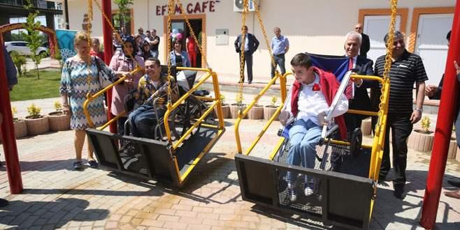 Nilüfer'den engelli parkı