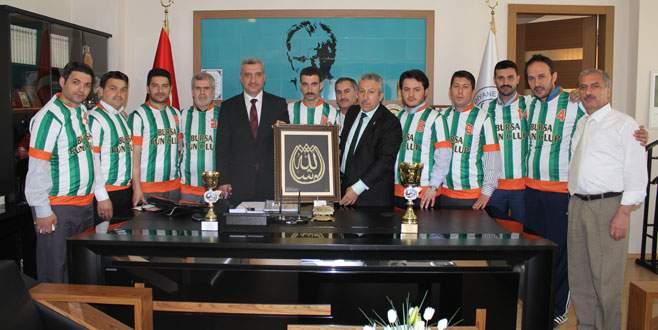 Şampiyon Osmangazi!