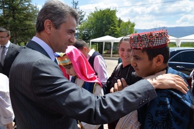 Bolu Valisi Aydın Baruş, Özel Öğrencilerle Buluştu
