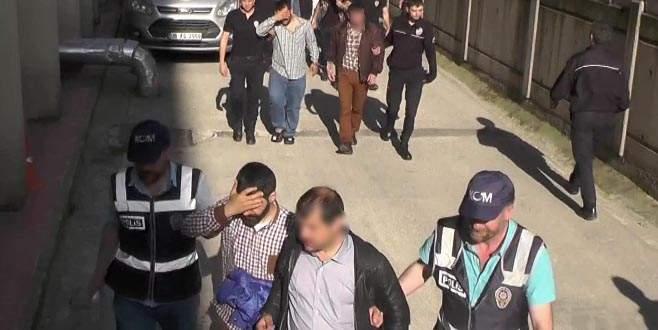 Bursa dahil 9 ilde operasyon: 61 gözaltı
