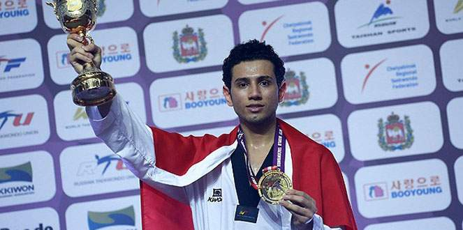 Milli tekvandocu Tazegül Dünya Şampiyonu oldu