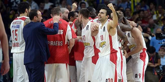 Olympiakos finale yükselen ilk takım oldu