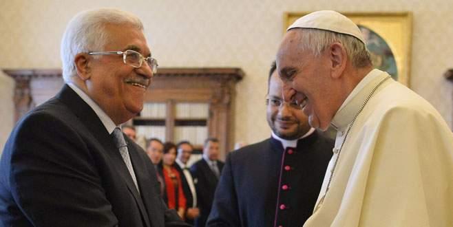 Vatikan'da Papa Abbas buluşması