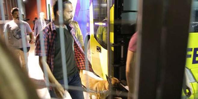 Fenerbahçe otobüsünde bomba araması!