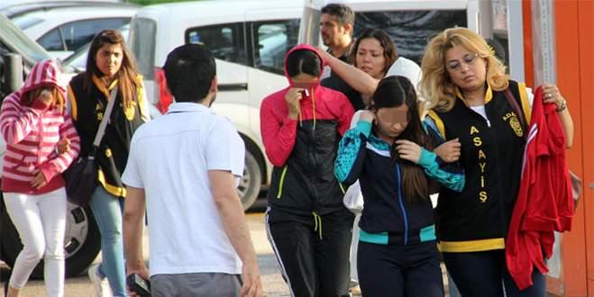 'Eş değiştirmeli fuhşa' 23 gözaltı
