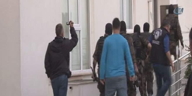İstanbul'da organize suç örgütü operasyonu