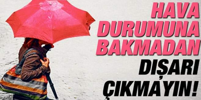 Bursalılar dikkat! Sağanak yağış geliyor