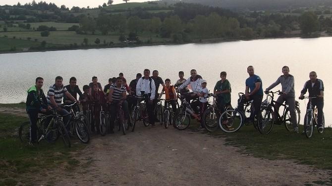 Daday'da ''19 Mayıs Gençlik Bisiklet Turu''