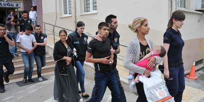 Bursa'da şafak operasyonu: 33 gözaltı!