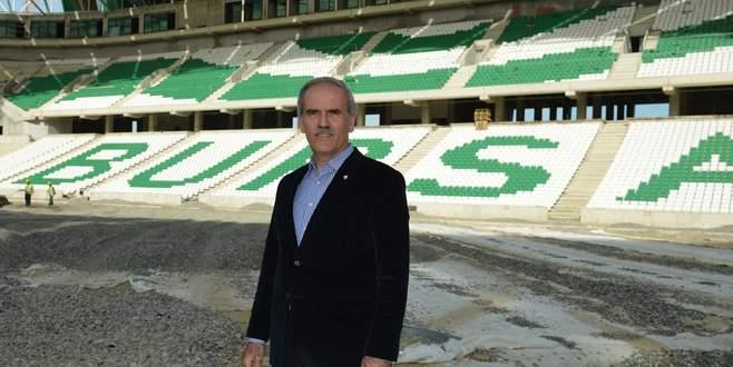 Altepe: 'Bursaspor bir dünya markası olacak'