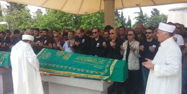 Tolga Çevik'i acı gününde dostları yalnız bırakmadı